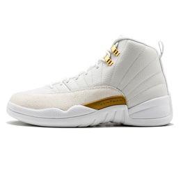 Wholesale UA Best Authentic quality Jumpman s Retro OVO white metallic gold Drake sneaker men shoes