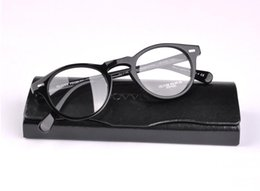 Wholesale Vintage Optical Glasses Frame Oliver Peoples Brand Designer Plank Frame Eyeglasses for Women and Men Eyewear Myopia Frames with Case