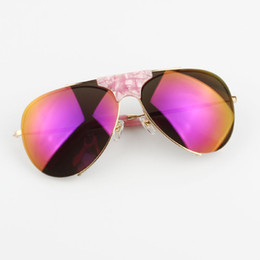 Wholesale 2017 brand designer Beta Titanium Light Europe America hot sale female big mirrored sunglasses shield sports goggle women sun glasses frame
