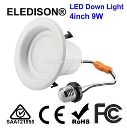 Wholesale Dimmable V AC inch LED Downlight W with E26 Screw Base UL CUL US Canada Standard Ceiling Down Light K K K K