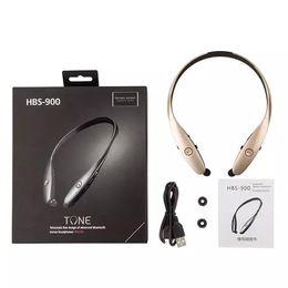 For LG Hot HBS-900 HBS900 Brand Premium Genuine Sports Stereo Bluetooth Headset Wireless Headphone Earphones Tone+ Infinim In Earbuds Player
