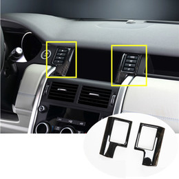 Wholesale Stainless Center GPS Navigation Cover For Land Rover Discovery Sport Black