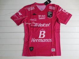 Club Leon 16-17 3rd Pink Fans Version Soccer Jersey Camisetas de fútbol tailandesas AAA + Qaulity Camisetas De Futbol desde camisetas de fútbol de color rosa proveedores