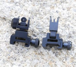 Wholesale New AR Rapid Transition Tactical Front and Rear Flip Up Down Iron Sights Set