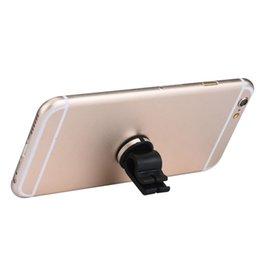 Promotion vent mount gps Vente en gros-Nouvelle Arrivée voiture Air Vent Phone Holder Support Mount magnétique pour iPhone GPS GPS noir M23