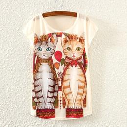 Wholesale New Summer T Shirt Women T Shirt Female Short Sleeve Kawaii Cat Totoro Emoji Unicorn Printing Casual T Shirt Tees Tps C1729