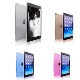 High Quality Soft TPU Case for iPad Air2 Transparent Slim Rubber Skin Fitting Wrapping Back Cover for Ipad 6 Air2