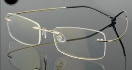 Retail 1pcs non-screw rimless optical Eyeglasses frames for prescription many colors available