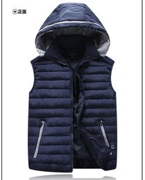 Wholesale Extra large man thermal vest waistcoat plus size very big obese CM chest super mens with hood XL XL XL XL XL