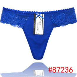 2015 new solid Laced cotton lady thong hot g-string sexy Underpants girl t-back lady panties women underwear lingerie intimate girl pants