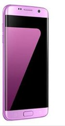 """Écrans pourpres en Ligne-Goophone S7 Edge quad-core MTK6580 Android 6.0 1G / 8G écran courbe Afficher 3 Go RAM 64 Go ROM 5,5 """"3G WCDMA Smartphone poudre pourpre pk s8 bord"""