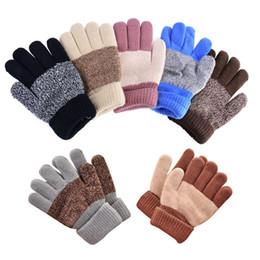 Gants en caoutchouc d'hiver à partir de garçons doigt moufle fabricateur