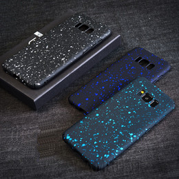 150 pcs Wholesale Colorful Glitter Phone Case Cover for Samsung S8 S8 Plus PC Phone Back Cover for iPhone 7 Cell Phone Case