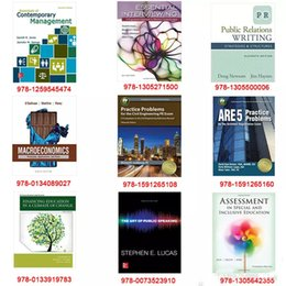 Wholesale 2016 new hot book The art of public speaking and New Released books Public Relations Writing Financing Education in a C