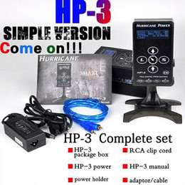 Wholesale Advanced Quality Compact Version Hurricane Power Supply HP Screen Touch Tech for Professional Tattoo Machines