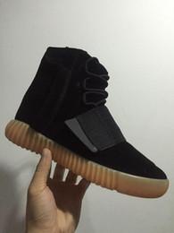 2017 Discount Cheap Wholesale Boost 750 Boost Nouveau gris clair Chaussures de course Hommes Femmes Kanye West Bottes de basket-ball Casual Chaussures Taille 5-11.5 à partir de lumières bottes fabricateur