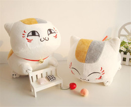 Promotion livres vidéo 1pc 30cm chat nouvelle arrivée Japon anime Natsume's Book of Friends kawaii joli professeur de chat rembourré peluche en peluche cadeau de vacances