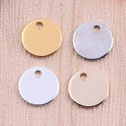 11mm new copper jewelry accessories solid wafer flat pendant diy jewelry single hole smooth variety of color options