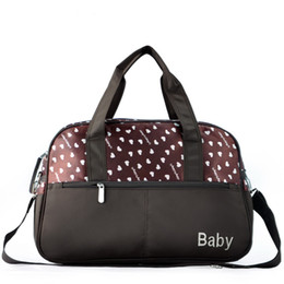 Wholesale New Style Free Shipping Convenient Nappy Bags Baby Diaper Bags Nylon Mommy Bags