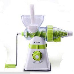 Wholesale Portable Juicer Manual Slow Extractor Blend Fresh Health Apple Orange Juicer Machine Corn Kitchen Tools