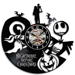 Nightmare Before Christmas Theme Popular Vinyl Clock Gift,Christmas gift
