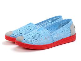 Wholesale Zapatillas Nike Mujer Zapatos Moda Air Mesh Primavera Verano Suave Plantilla Zapatos Planos Mujer Zapatos Causal Zapatillas Slip on Zapatos Más Tamaño