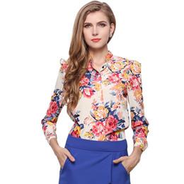 New 2017 Spring Fashion V-Neck Chiffon Blouses Slim Women Office Work Wear shirts Women Tops Plus Size Blusa ST028
