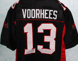 Wholesale JASON VOORHEES MEAN MACHINE LONGEST YARD MOVIE JERSEY FRIDAY th ANY SIZE