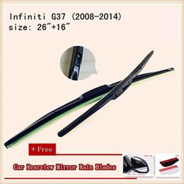 High Quality U-type Universal Car Windshield Wiper With Soft Natural Rubber For Infiniti G37 Infiniti EX25 Infiniti FX35 QX80 EX35 M35h M37