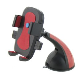 Wholesale Car Cell phone holder GPS Stand navigation Sucker windshield dashboard Support Mobile Video Holder Center console Car Mount