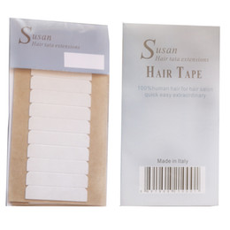 Wholesale high quality top quality Susan Italy strong hair extension tape   hair tape