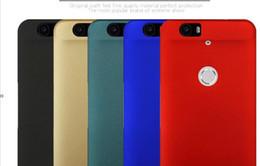 Plástico nexo en Línea-2016 TUltra-thin cubierta de plástico duro teléfono Fundas de teléfono móvil para Huawei NEXUS 6P Mobile teléfono protección shell