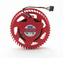 Wholesale AVC BASA0725R2U V A For ATI HD5870 HD5970 graphics card fan turbine