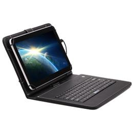 Acheter en ligne Dual core tablet pc-Stocks américains! IRULU 10 pouces MTK8127 8 Go Android 4.4 Tablet PC PCS Quad-Core double caméra Bluetooth Wifi GPS Tablettes Bundle cas clavier
