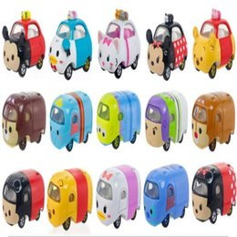 Wholesale Diecast Cars TOMY Folding Alloy Car Model Toys for Children TOMIKA Frozen TSUM Kitty Model Automobile Vehicles Autos Cars Trailer Cars Game