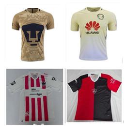 Wholesale DHL Mixed buy Mexico Club America Jersey Cougar football shirts Club Deportivo Atlas J DUQUE camisetas de futbol