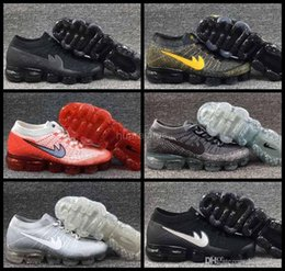 Wholesale 2017 New Arrival Air VaporMax Men Shock Running Shoes Cheap High quality Fashion Airs Casual Vapor Maxes Mens Sport Sneakers Size