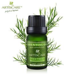 Wholesale 100 Tea Tree Pure Essential Oil Face Care Skin Acne Treatment Oil Blackhead Remover Anti Scar Spots Facial Beauty ARTISCARE