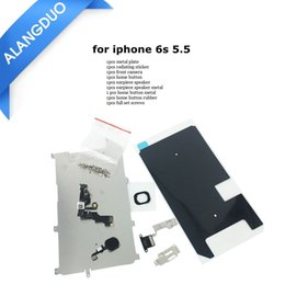 Full Set Repair Parts For iphone 5 5S 5C 6 6s plus Full LCD Display Repair Parts Front Camera Speaker home button Screws