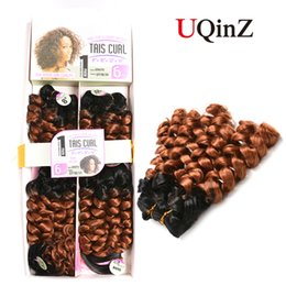 Popular N&T Brazilian Loose Wave Bundles Ombre Natural Black To Blonde Color Non-remy Hair Weaving 8 Piece Extensions With (14x2 16x2 18x2 i
