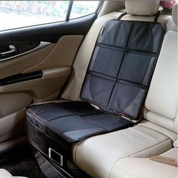 LUNDA OXFORD Luxury Car Seat Protector,Child or Baby Auto Seat Protector Mat,Protection For Car Seats,Black Leather