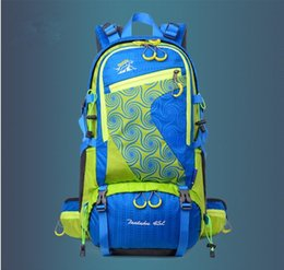 printing backpack nylon waterproof big volume camping multifunctional high quality