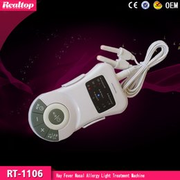Wholesale 2016 newest Allergy Reliever Allergic Rhinitis Hay Feve Therapy allergic rhinitis Laser Treatment Device Home Safe