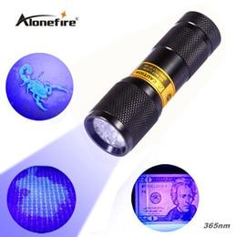 Wholesale 9 LED SUPERIA nm UV Light LED uv Flashlight Ultraviolet light for uv leak detector nm Best world ultraviolet lamp