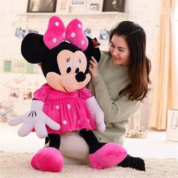 2017 ours saint valentin cadeau géant EMS 1PCS Giant 140cm 55''inch Mickey Mouse et Minnie souris jouets TEDDY BEAR PLUSH HUGE SOFT TOY jouets en peluche Saint Valentin cadeau ours saint valentin cadeau géant sur la vente