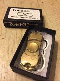 EDC HandSpinner fingertips spiral fingers gyro Torqbar Brass pure copper toys