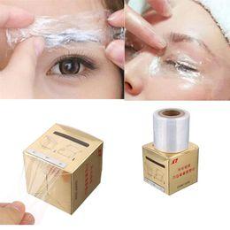Wholesale New Box Tattoo Plastic Wraps Cover Preservative Film Semipermanent Makeup Tattoos Eyebrow Liner Tattoo Accessory MM M