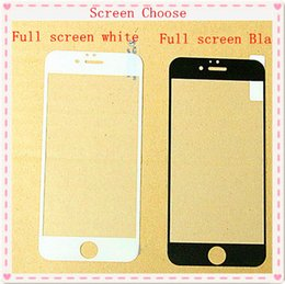 Wholesale 9H Hardness protecting eyesight mm Tempered Glass kits For iPhone S SE C S S Plus s Plus Full Screen Protector Film Case