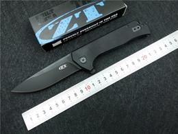 Cuchillo plegable del cojinete de bolitas de la aleta de Kesiwo ZT 0804 CTS-204P cuchilla G10 Manejo de la supervivencia que acampa al aire libre Herramienta del cuchillo Herramientas desde bolas de rodamiento proveedores