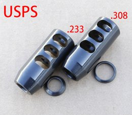 Wholesale x24 Threads Competition Muzzle Brake With Crush Washer